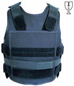 Stichschutzweste TW19 von Hersteller Sector. Sehr gängige Stichschutzweste für Privat, Polizei und Sicherheitsdienst.