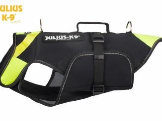 Julius K9 IDC Hundeschwimmweste 3in1 Hundemantel, Hundeschwimmweste und Tragehilfe