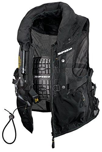 Spidi Motorrad-Safety Protection Neck DPS Tex Vest, Schwarz, Größe M